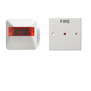 Rivelatore incendi rapido a led